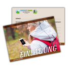 Einladungskarte Geocaching Download